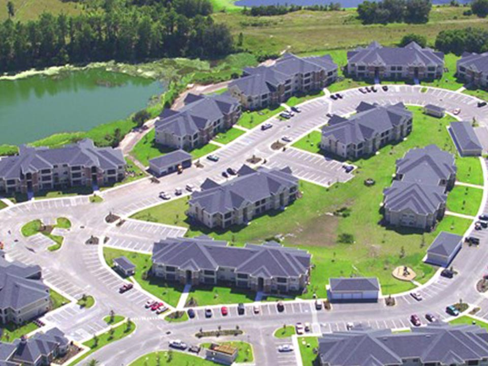 Aerial Photo Of Our Sprawling Lake Front Community.