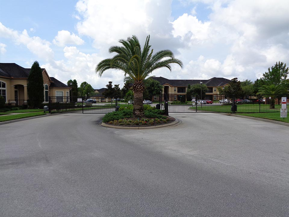 Photo Of Our Gated Community Entrance.