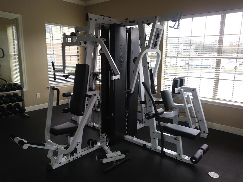 Photo Of The Full Body Strength Weighted Resistance Lifting System In Our Modern Community Fitness Center.