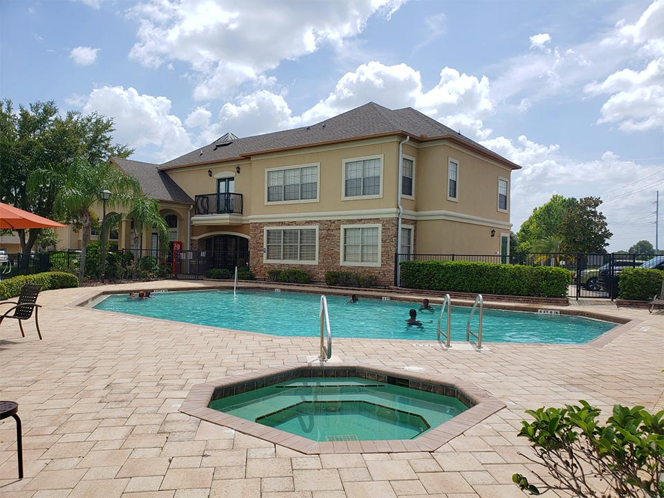Photo Of The Refreshing Community Jacuzzi And Pool.